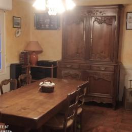 Salon pouvant accueillir 7 personnes a chacun son fauteuil - Location de vacances - Plogoff