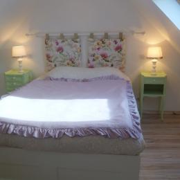 Chambre avec 1 lit 140cm - Location de vacances - Crozon