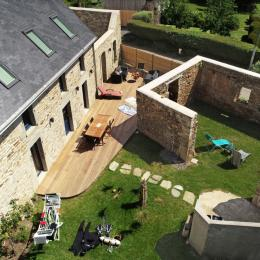 Salle à manger - Location de vacances - Moëlan-sur-Mer
