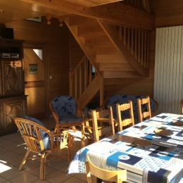 Salon de l'étage - Location de vacances - Locquirec