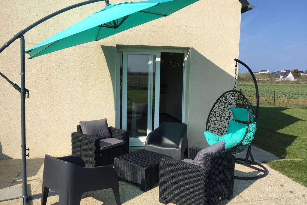 Terrasse - Location de vacances - Plouescat