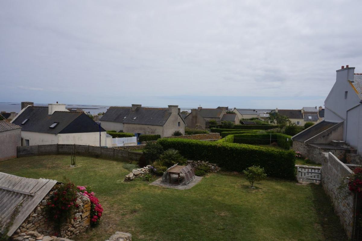 Vue mer depuis la chambre - Location de vacances - Île-Molène