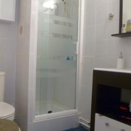 Salle d'eau avec WC - Location de vacances - Fouesnant