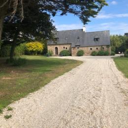 L'entrée de la propriété - Location de vacances - Plouguerneau