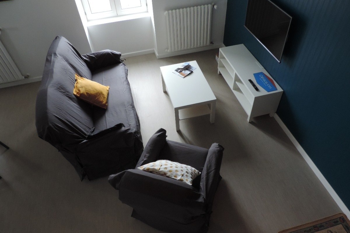 La pièce à vivre - Location de vacances - Plouhinec