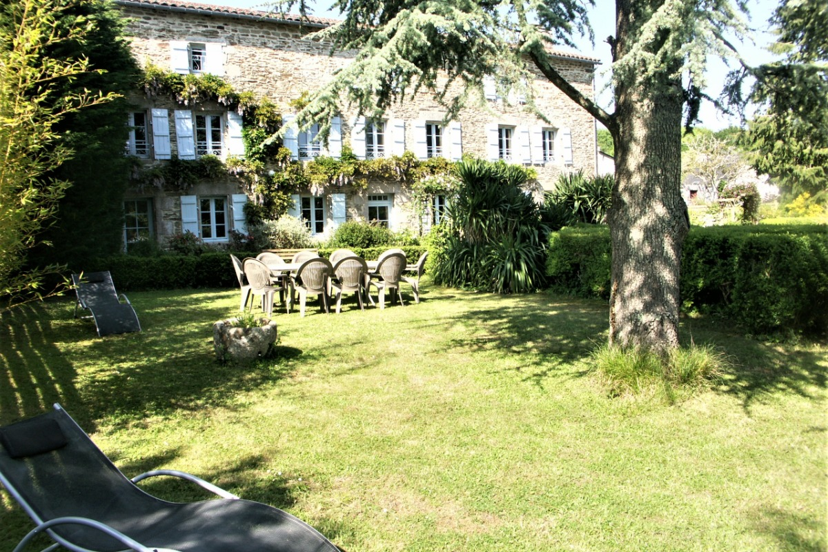 Jardin privatif - Location de vacances - Moëlan-sur-Mer
