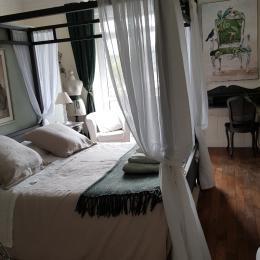 Chambre avec lit 160 x 200  - Chambre d'hôtes - Combrit