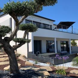vue de maison du jardin - Location de vacances - Carantec
