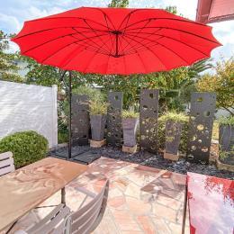 la terrasse - Location de vacances - Treffiagat