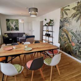 séjour cuisine - Location de vacances - Penmarc'h