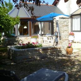 Maison exposée sud sans voisinage à 100 m de la plage - Location de vacances - Fouesnant