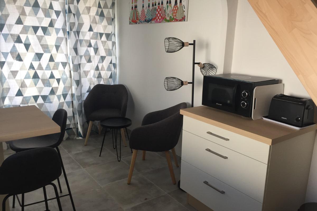 Coin salon  - Location de vacances - Bénodet