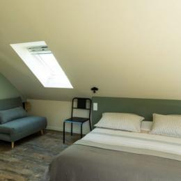 Chambre lit 160 - Location de vacances - Milizac-Guipronvel