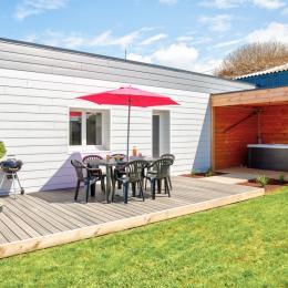 Maison plein pied 4 personnes avec SPA à 100 m de la mer - Location de vacances - Cléder