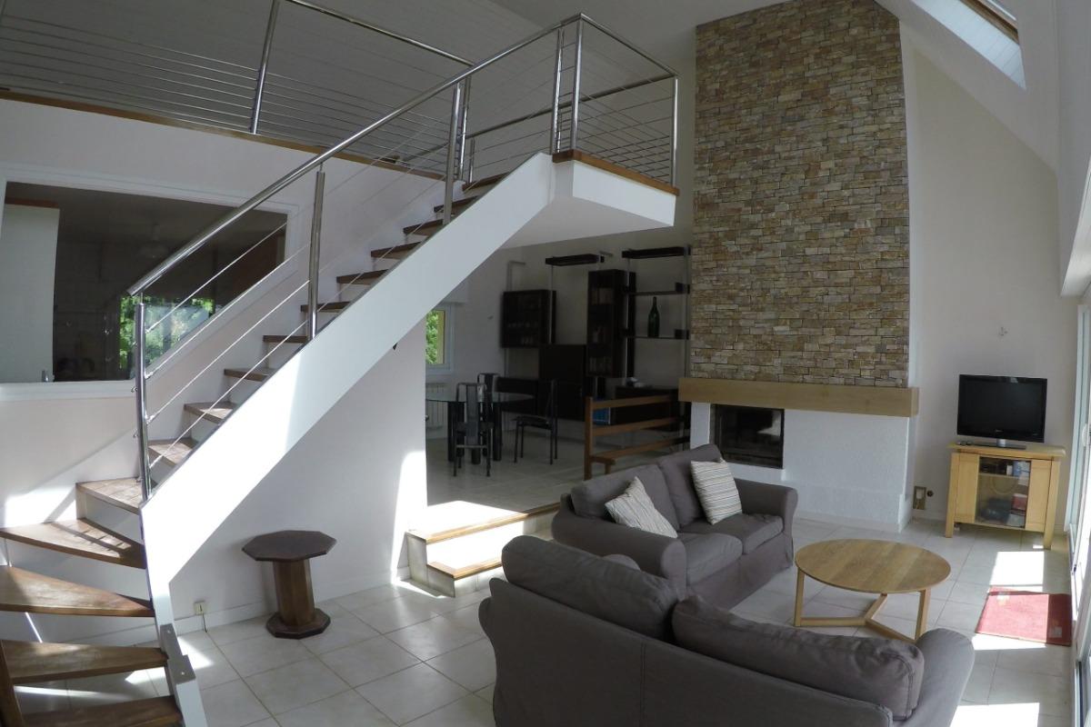 Grand salon  - Location de vacances - Plouguerneau