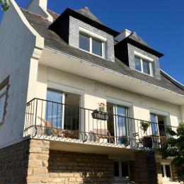 Maison avec vue mer, balcon et jardin clos - Location de vacances - Concarneau