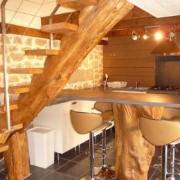 Cuisine / salle à manger - Location de vacances - Trégunc