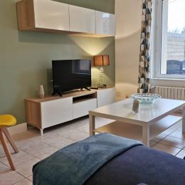 Espace salon - Location de vacances - Telgruc-sur-Mer
