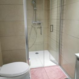 Salle d'eau avec WC - Location de vacances - Telgruc-sur-Mer