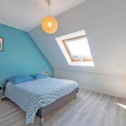 Chambre avec 1 lit 160 - Location de vacances - Plouarzel