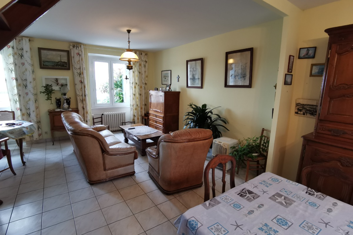 Salon - Location de vacances - Ploudalmézeau