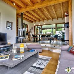 Salon spacieux - Location de vacances - Plouarzel
