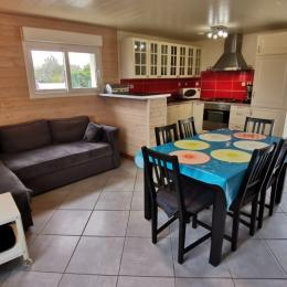 Salon séjour  - Location de vacances - Camaret-sur-Mer