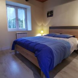 Chambre 1 avec 1 lit 140 - Location de vacances - Clohars-Fouesnant