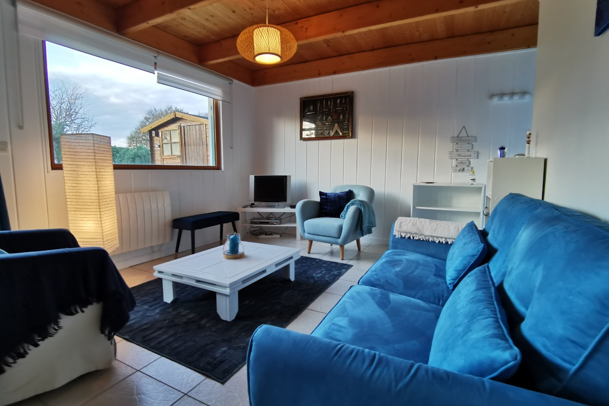 Espace salon - Location de vacances - Hanvec