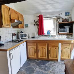 Lit superposé dans la mezzanine - Location de vacances - Hanvec