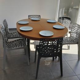 Salle d'eau privative à la chambre 1 - Location de vacances - Plobannalec-Lesconil