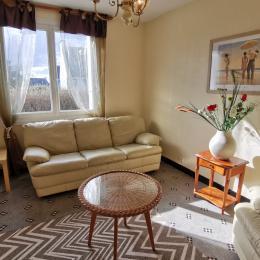 Salon confortable - Location de vacances - Plouescat