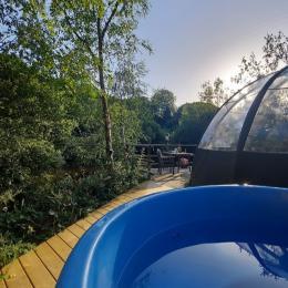 toilette sèche dans la bulle - Chambre d'hôtes - La Roche-Maurice