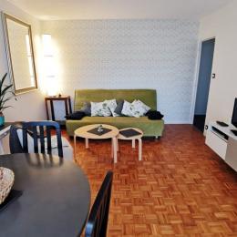 Salon séjour de l'appartement - Location de vacances - Combrit