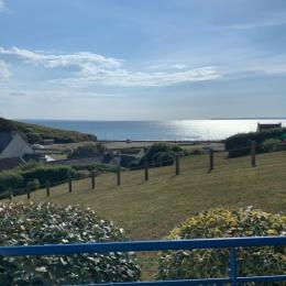 Vue mer depuis la maison - Location de vacances - Plomodiern