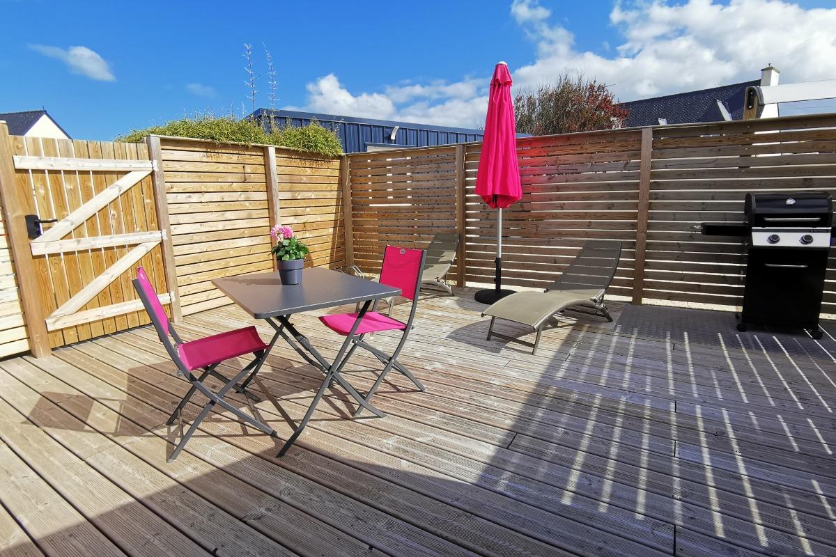Salon de jardin  - Location de vacances - Santec