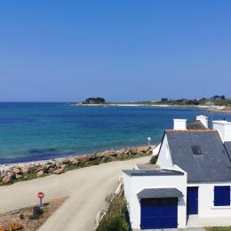 Vue sur mer depuis la maison  - Location de vacances - Plougasnou