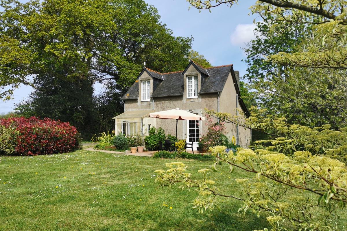 Extérieur de la maison  - Location de vacances - Saint-Goazec
