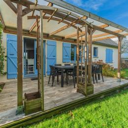 Belle maison rénovée avec grande pièce a vivre lumineuse et spacieuse - Location de vacances - Île-Tudy
