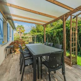 Une chambre au rdv avec 1 lit 140 - Location de vacances - Île-Tudy