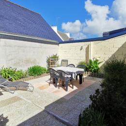 Joli jardin privatif au calme - Location de vacances - Guilvinec
