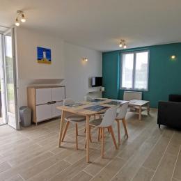 Appartement en rdc d'une maison de 2 appartements donnant sur terrasse - Location de vacances - Fouesnant