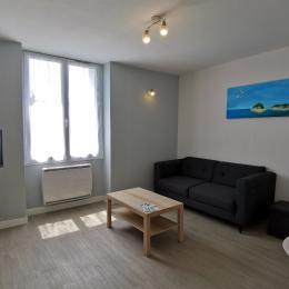 Salon avec TV / Wifi - Location de vacances - Fouesnant