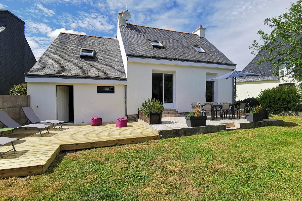 Extérieur de la maison  - Location de vacances - Moëlan-sur-Mer
