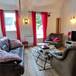 Salon  - Location de vacances - Concarneau