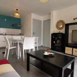 Pièce de vie lumineuse spacieuse - Location de vacances - Locmaria-Plouzané