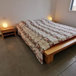Chambre spacieuse avec un lit 160 - Location de vacances - Locmaria-Plouzané