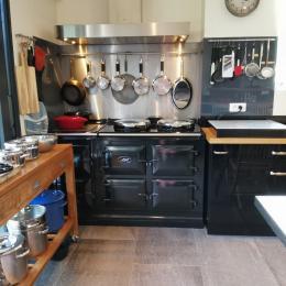 Piano de cuisson - Location de vacances - Bénodet