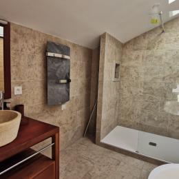 Chambre avec lit de 140 à l'étage - Location de vacances - Plouarzel