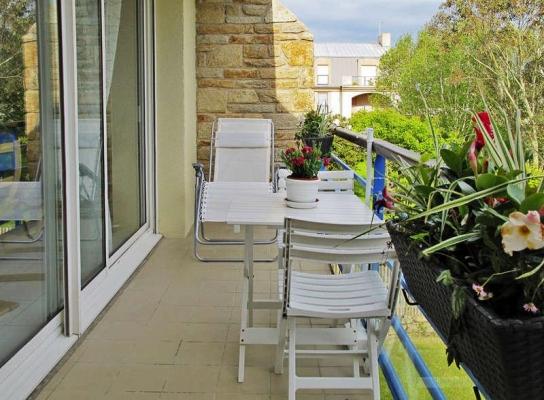 Balcon ensoleillé jusqu'à 19h// 5x1,40m - Location de vacances - Roscoff